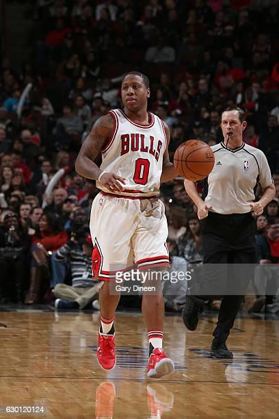 Isaiah Canaan of the Chicago Bulls handles the ball against the Milwaukee Bucks on December 16 2016 at the United Center in Chicago Illinois NOTE TO...