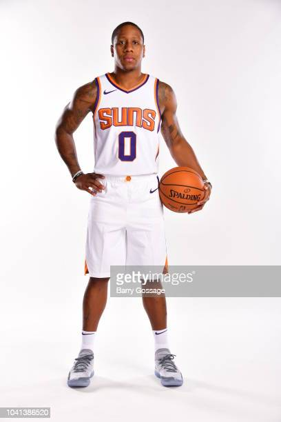 Isaiah Canaan of the Phoenix Suns poses for a portrait during Media Day on September 24 at Talking Stick Resort Arena in Phoenix Arizona NOTE TO USER...