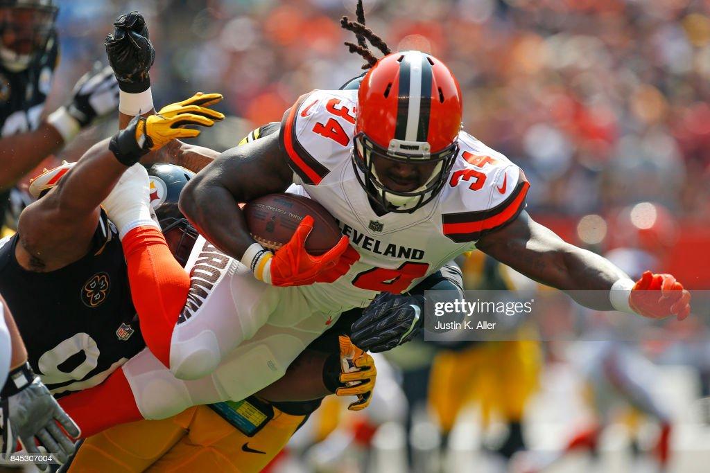 Fotos Und Bilder Von Pittsburgh Steelers V Cleveland Browns Getty