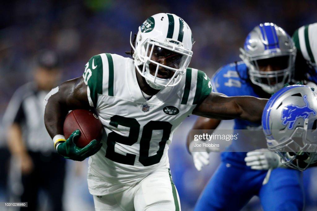 New York Jets v Detroit Lions : News Photo