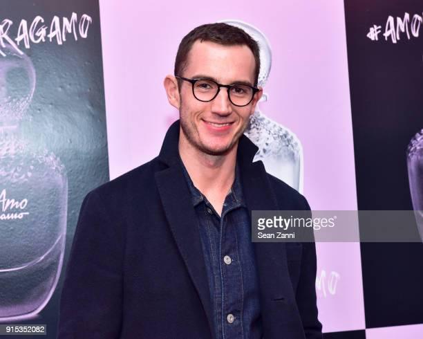 Isaiah FreemanSchub attends Salvatore Ferragamo Suki Waterhouse celebrate AMO Ferragamo on February 6 2018 in New York City