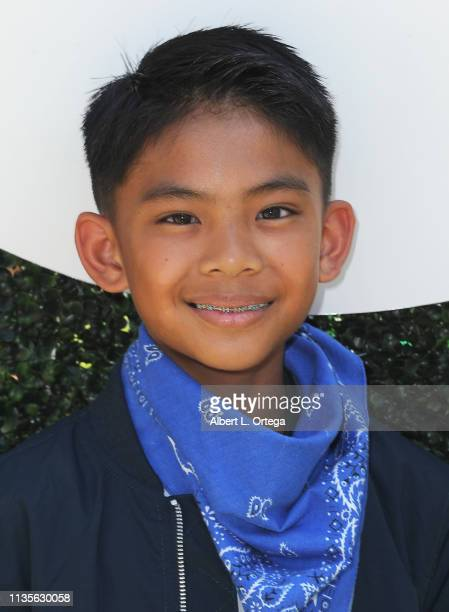 Isaiah Marquez arrives for Clubhouse Kidchella held at Pershing Square on April 6 2019 in Los Angeles California