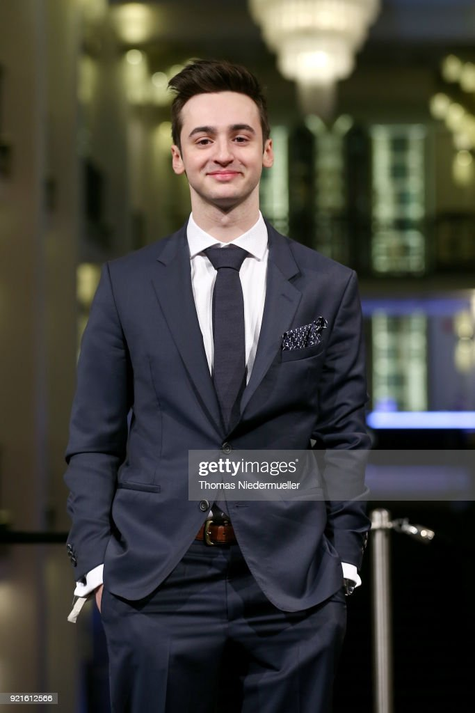 Isaiah Michalski attends the 'The Silent Revolution' (Das schweigende Klassenzimmer) premiere during the 68th Berlinale International Film Festival Berlin at Friedrichstadtpalast on February 20, 2018 in Berlin, Germany.
