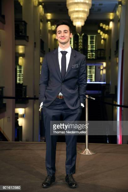 Isaiah Michalski attends the 'The Silent Revolution' premiere during the 68th Berlinale International Film Festival Berlin at Friedrichstadtpalast on...