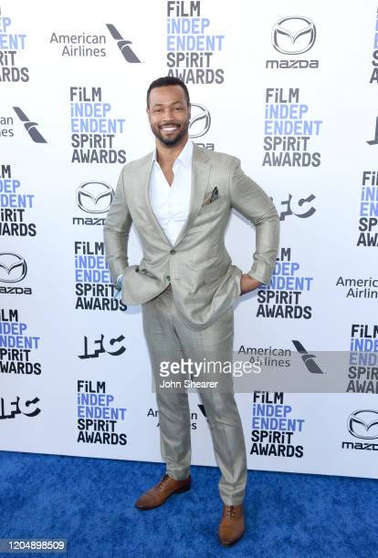 Isaiah Mustafa attends the 2020 Film Independent Spirit Awards on February 08, 2020 in Santa Monica, California.