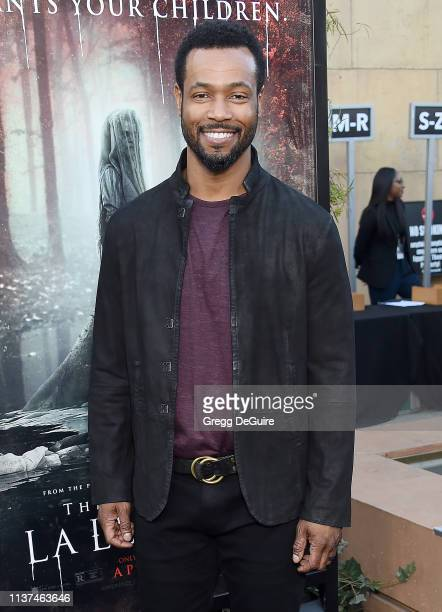 Isaiah Mustafa attends the Premiere Of Warner Bros' The Curse Of La Llorona at the Egyptian Theatre on April 15 2019 in Hollywood California