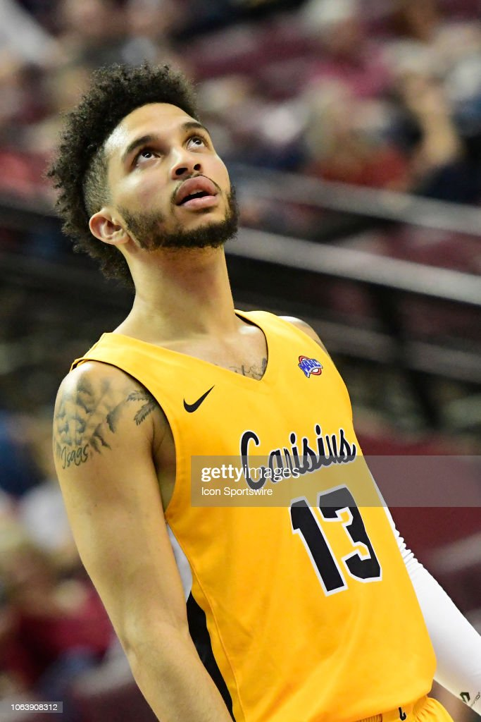 info for 1fb6a 25d38 Isaiah Reese guard Canisius College Golden Griffins checks ...