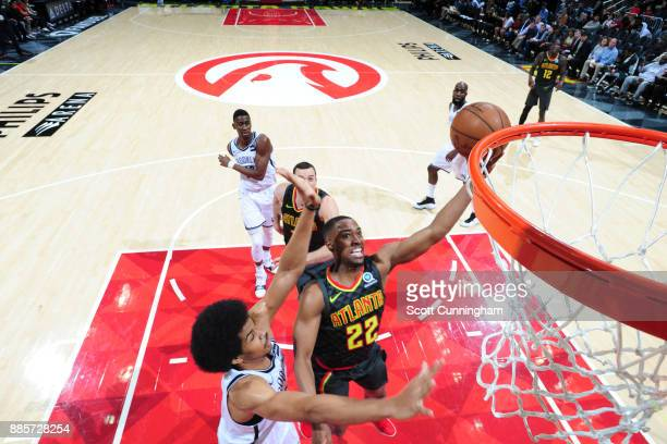 Isaiah Taylor of the Atlanta Hawks shoots the ball against the Brooklyn Nets on December 4 2017 at Philips Arena in Atlanta Georgia NOTE TO USER User...