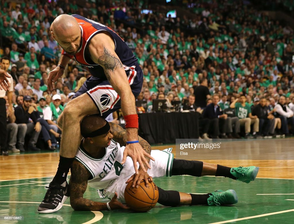 Washington Wizards v Boston Celtics - Game Seven Photos and Images ...
