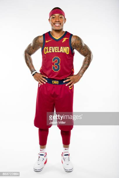 Isaiah Thomas of the Cleveland Cavaliers poses during media day at Cleveland Clinic Courts on September 25 2017 in Independence Ohio NOTE TO USER...