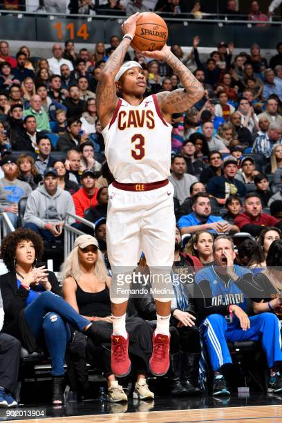 Isaiah Thomas of the Cleveland Cavaliers shoots the ball against the Orlando Magic on January 6 2018 at Amway Center in Orlando Florida NOTE TO USER...