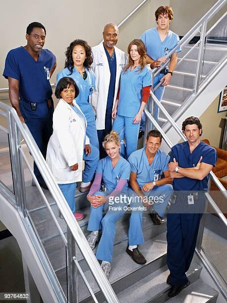 S ANATOMY Isaiah Washington as 'Dr Preston Burke' Chandra Wilson as 'Miranda Bailey' Sandra Oh as 'Cristina Yang' James Pickens Jr as 'Dr Richard...