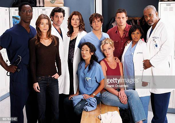 S ANATOMY Isaiah Washington as 'Dr Preston Burke' Ellen Pompeo as 'Meredith Grey' Patrick Dempsey as 'Dr Derek Shepherd' Kate Walsh as 'Dr Addison...
