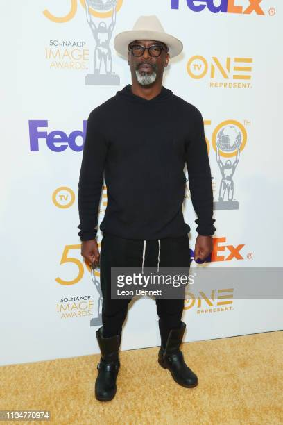 Isaiah Washington attends 50th NAACP Image Awards Nominees Luncheon Arrivals at Loews Hollywood Hotel on March 09 2019 in Hollywood California