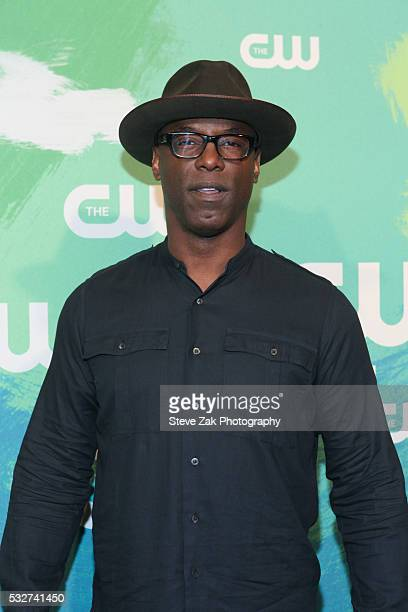 Isaiah Washington attends The CW Network's 2016 New York Upfront at The London Hotel on May 19 2016 in New York City