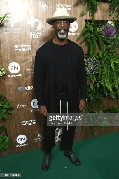Isaiah Washington attends the Global Green 2019 PreOscar Gala at Four Seasons Hotel Los Angeles at Beverly Hills on February 20 2019 in Los Angeles...