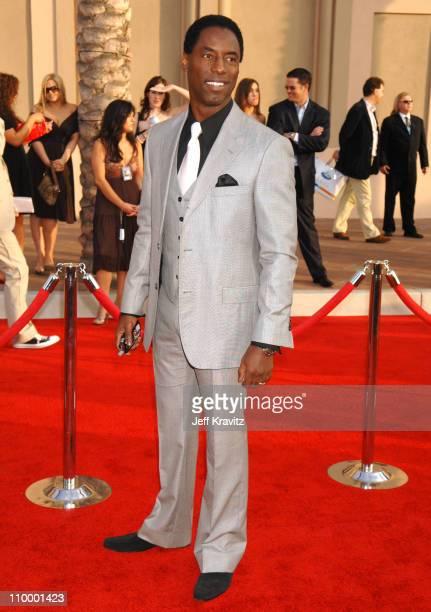Isaiah Washington during 2006 American Music Awards Arrivals at Shrine Auditorium in Los Angeles California United States