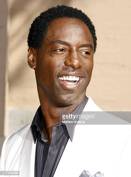 Isaiah Washington during 58th Annual Creative Arts Emmy Awards Arrivals at The Shrine Auditorium in Los Angeles California United States