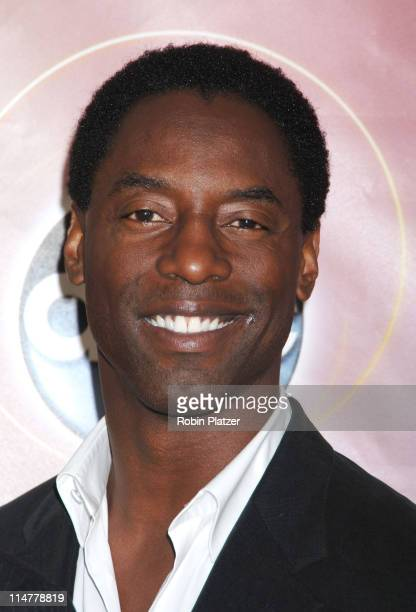 Isaiah Washington during ABC Upfront 2006/2007 Arrivals at Lincoln Center in New York City New York United States