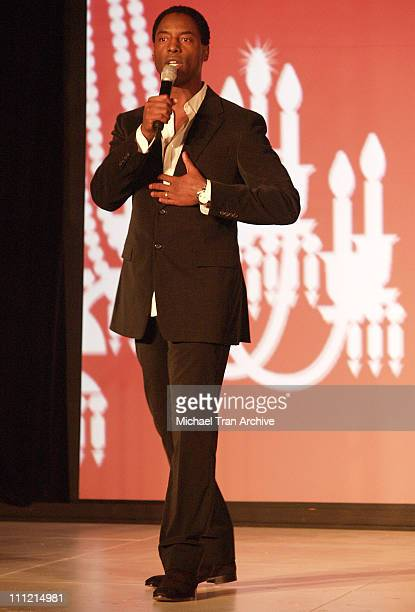 Isaiah Washington during Baccarat Presents the Lighting of the UNICEF Crystal Snowflake and Chandelier Display on Rodeo Drive Followed by the First...