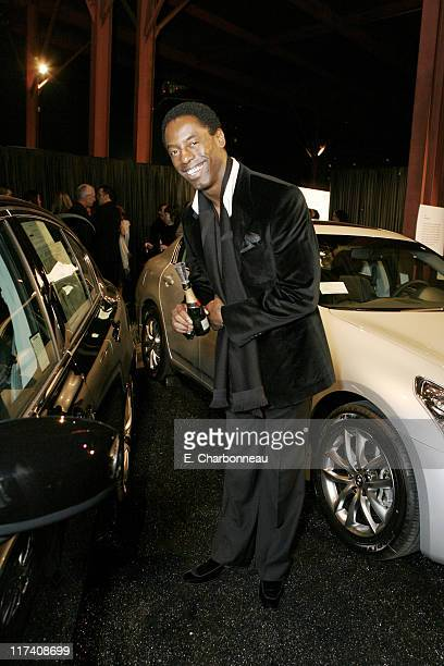 Isaiah Washington during MOCA's Opening Night Fete For The Skin Bones Exhibition Sponsored By Infiniti With Champagne Sponsorship From Moet Chandon...