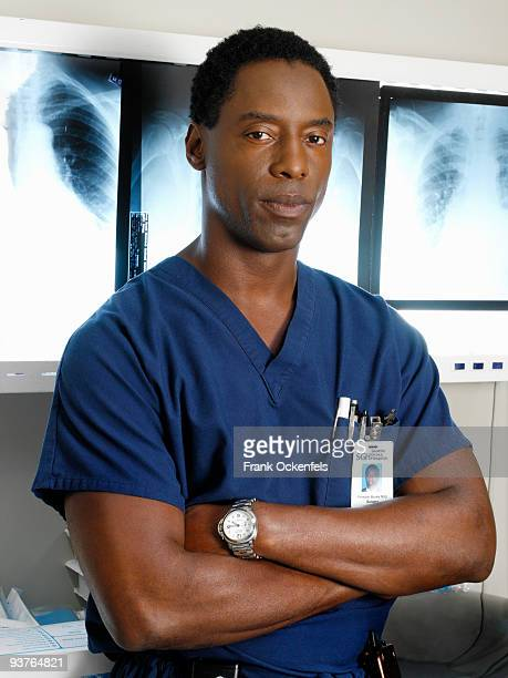 "Isaiah Washington stars as ""Dr. Preston Burke"" on ""Grey's Anatomy"" on the Walt Disney Television via Getty Images Television Network."