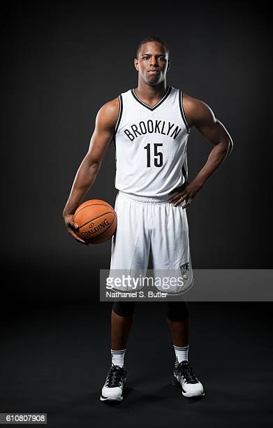 Isaiah Whitehead of the Brooklyn Nets poses for a portrait during the 20162017 Brooklyn Nets Media Day at the Hospital for Special Surgery Training...