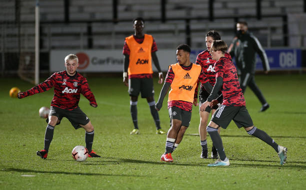 GBR: Salford City v Manchester United: FA Youth Cup
