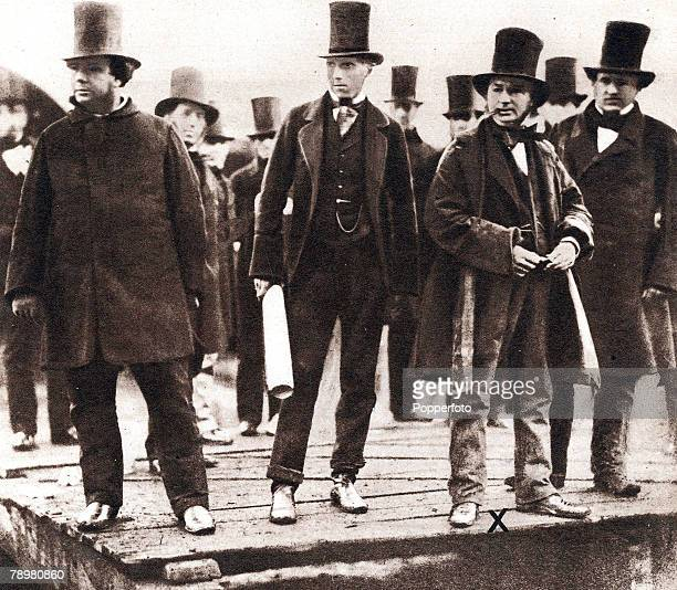 1856 Isambard Kingdom Brunel a pioneer of transport sees his plan come true as he watches work on an early steamboat He built the broadgauge Great...