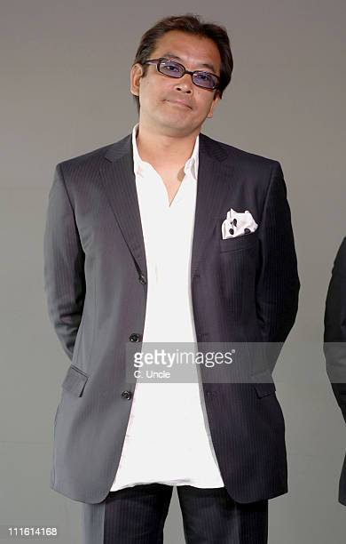 Isamu Nakae director during 2006 Cannes Film Festival Fuji Television Party at Majestic Beach in Cannes France