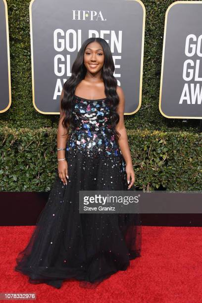 Isan Elba attends the 76th Annual Golden Globe Awards at The Beverly Hilton Hotel on January 6 2019 in Beverly Hills California