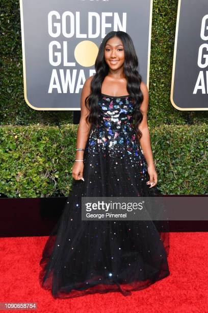 Isan Elba attends the 76th Annual Golden Globe Awards held at The Beverly Hilton Hotel on January 06 2019 in Beverly Hills California