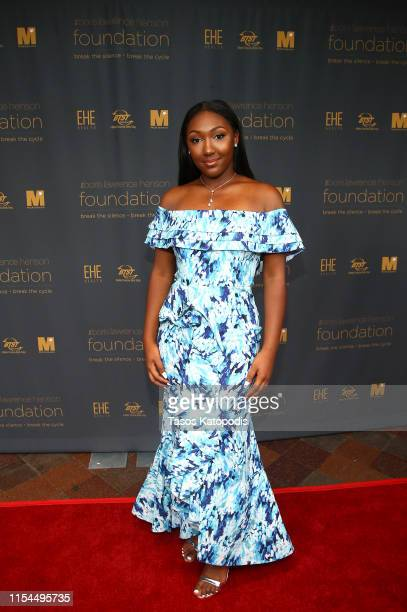 Isan Elba attends The Boris Lawrence Henson Foundation Inaugural Can We Talk Benefit Dinner at The Newseum on June 07 2019 in Washington DC