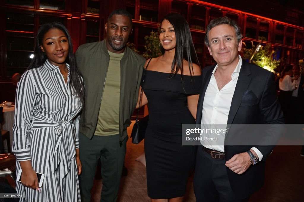 Idris Elba Attends ABB Formula E Qatar Airways Paris E-Prix Pre-Race Cocktail Party