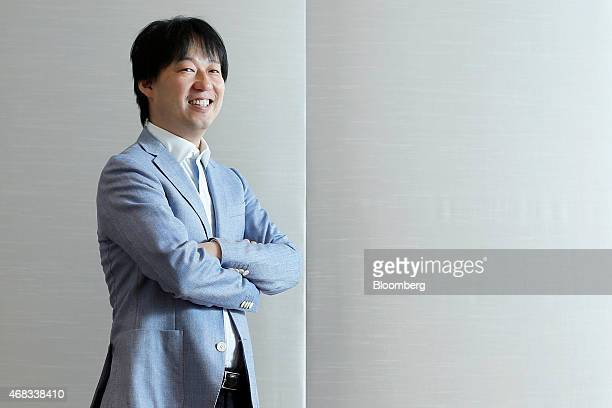 Isao Moriyasu president and chief executive officer of DeNA Co poses for a photograph at the company's headquarters in Tokyo Japan on Tuesday March...