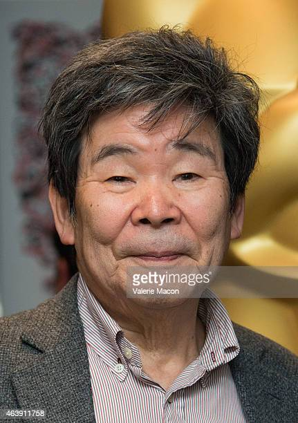 Isao Takahata attends the 87th Annual Academy Awards Oscar Week Celebrates Animated Features at Samuel Goldwyn Theater on February 19, 2015 in...
