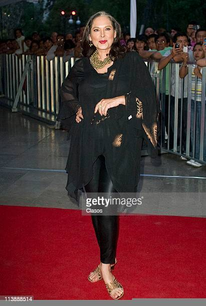 Isaura Espinoza attends to the ceremony of Ariel Awards 2011 at Bellas Artes on May 7 2011 in Mexico City Mexico