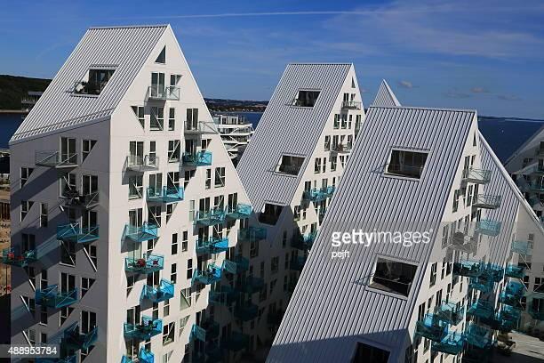 Isbjerget residental modern Housing in Aarhus, Denmark