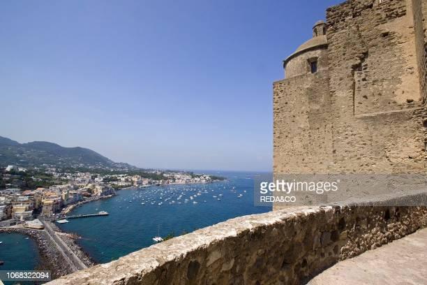 Ischia Ponte from Castello Aragonese Ischia Campania Italy