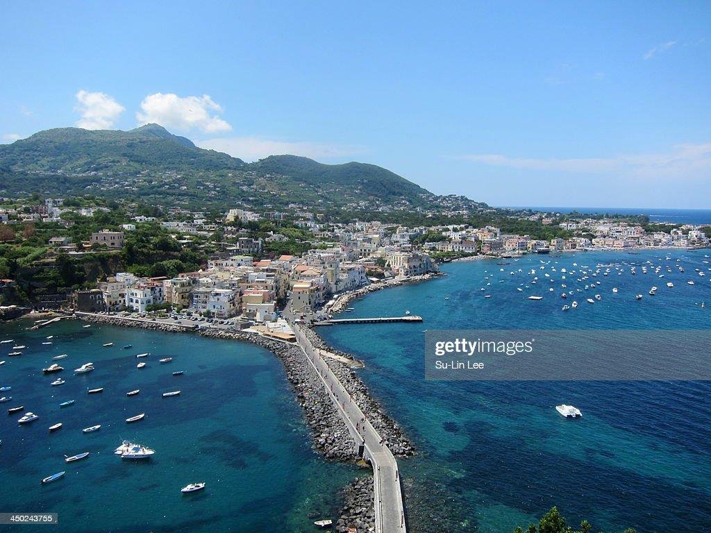 Ischia Ponte : Stock Photo