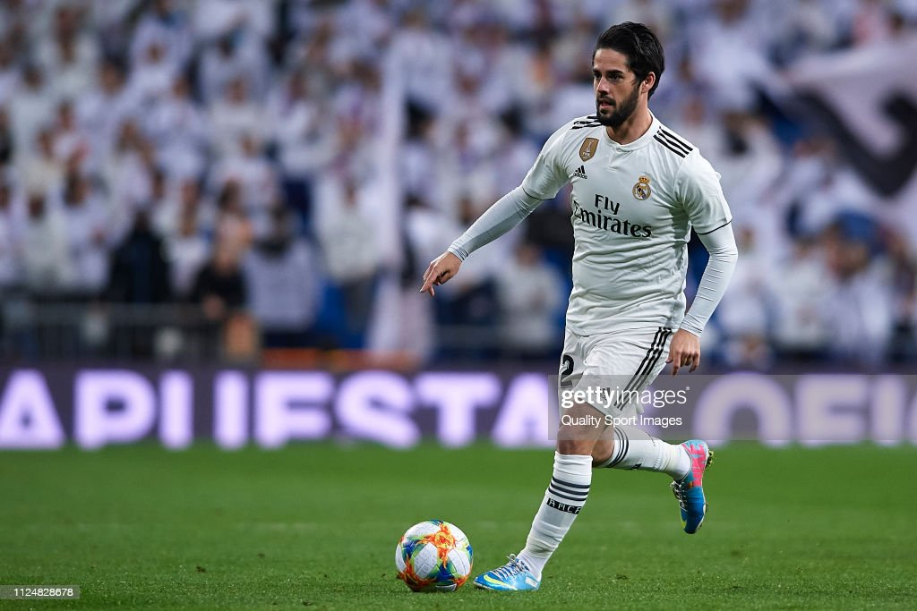 Real Madrid v Girona - Copa del Rey Quarter Final : News Photo