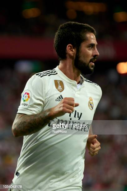 Isco during the match between Athletic Club against Real Madrid at San Mames Stadium in Bilbao Spain on September 15 2018