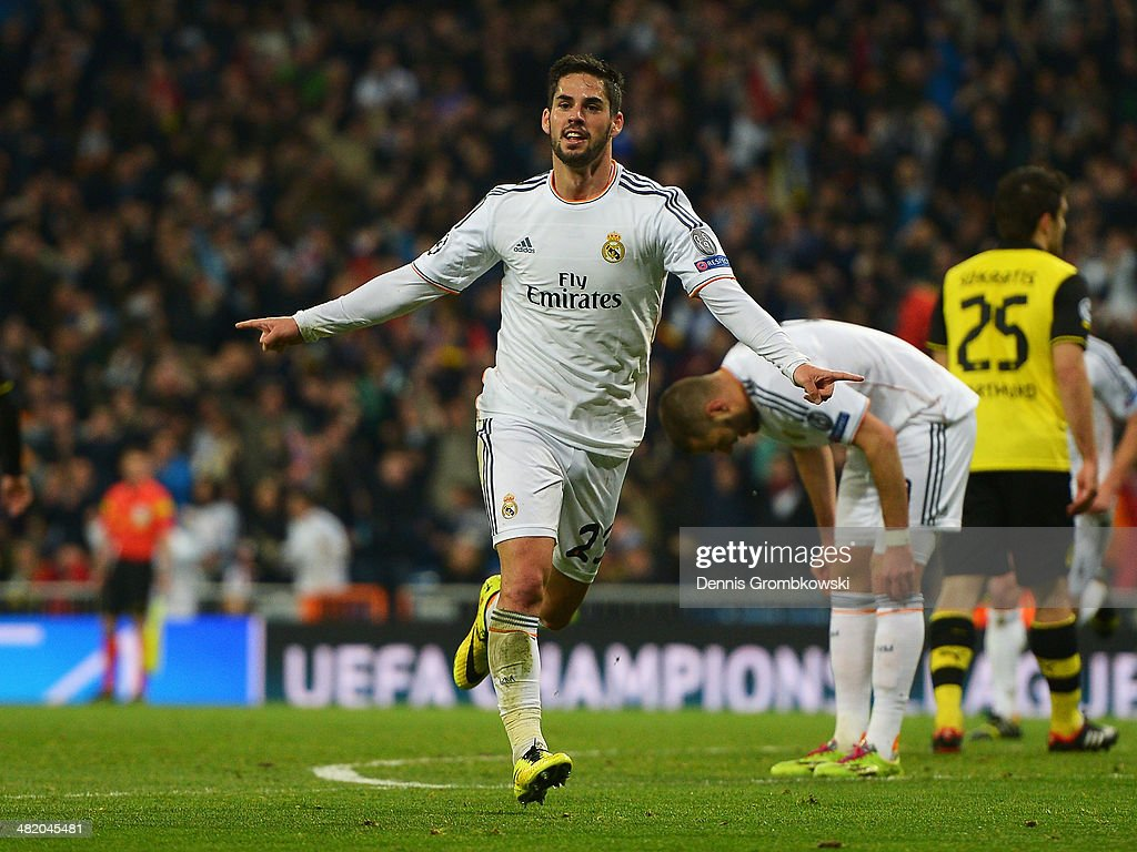 Real Madrid v Borussia Dortmund - UEFA Champions League Quarter Final