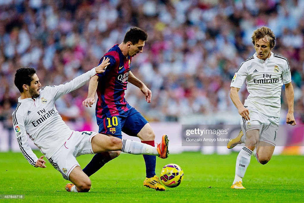 Real Madrid CF v FC Barcelona - La Liga : News Photo