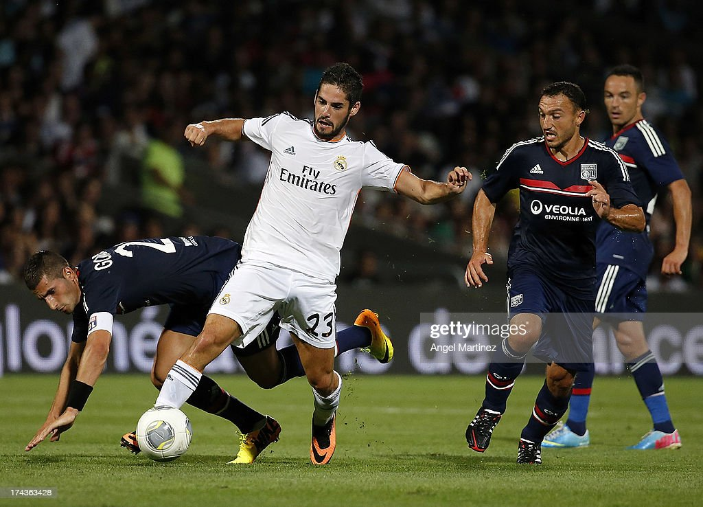 Olympique Lyonnais v Real Madrid - Pre Season Friendly