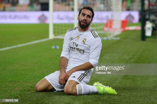 Isco of Real Madrid reacts during the Supercopa de Espana Final match between Real Madrid and Club Atletico de Madrid at King Abdullah Sports City on...