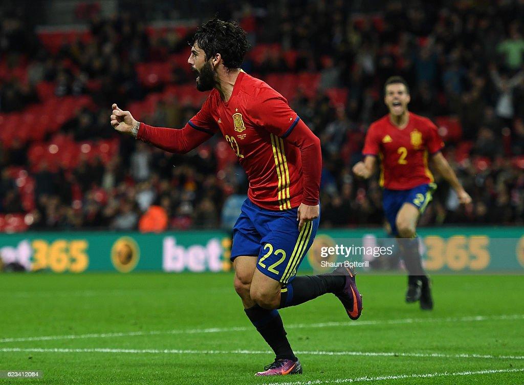 England v Spain - International Friendly
