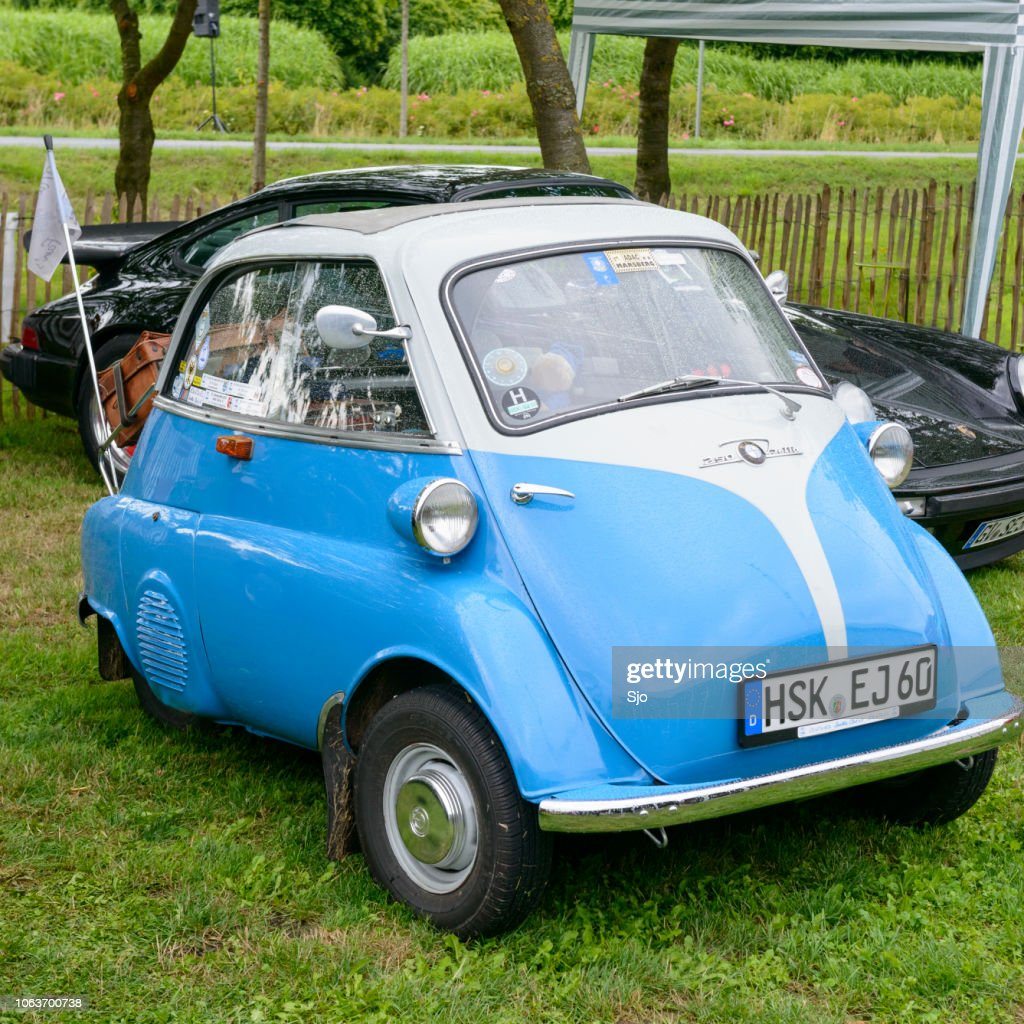 Bmw Isetta 250 1950s Microcar Or Bubble Car Stock Photo