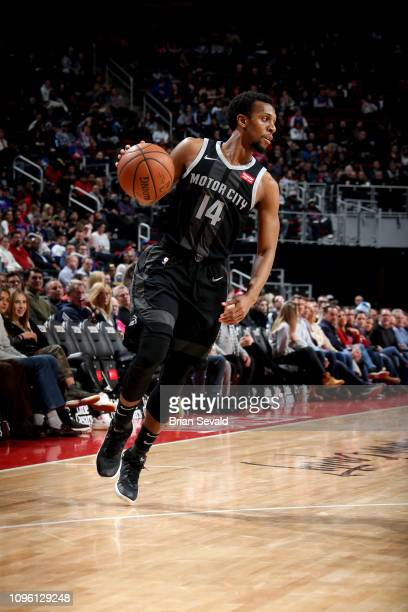 Ish Smith of the Detroit Pistons handles the ball against the New York Knicks on February 8 2019 at Little Caesars Arena in Detroit Michigan NOTE TO...