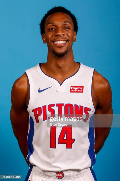 Ish Smith of the Detroit Pistons poses for a head shot during media day on September 24 2018 at Little Caesars Arena in Detroit Michigan NOTE TO USER...